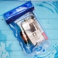 3572 mobile phone waterproof bag/waterproof camera bag case is suing diving suit Free shipping