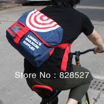Motorcycle side backpack bicycle bag messenger bag messenger bag shoulder bag street