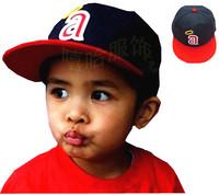 baby boy hip-hop baseball cap children fashion adjust cap kids hiphop cowboy cotton hat with word 4-8 years old one piece retail