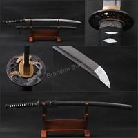 Craftwork Handmade Japanese Katana Damascus Folded Practical Japanese Samurai Sword * 711