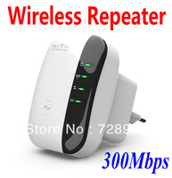 NEW 300Mbps Wireless-N Wifi Repeater 802.11N/G/B Network Router Expander Booster
