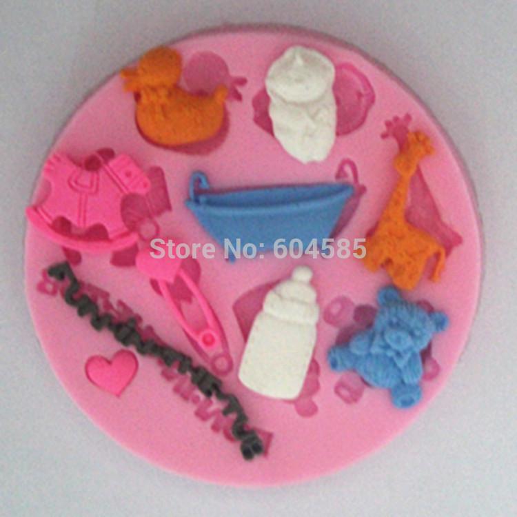 fondant baby shower cakes Price