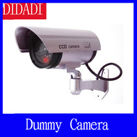 Wireless Waterproof IR LED Surveillance Fake Dummy Camera, Free Shipping Wholesale