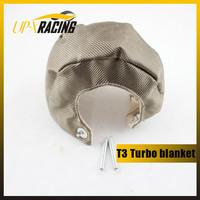 Universal auto parts titanium T6 turbo blanket Turbo Heat Shield Blanket t6  turbo blanket