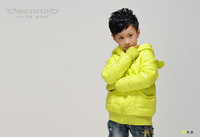2013 New arrival kid girl's down coat,90% duck feather down,Free Shipping, 50% off