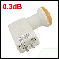 Universal LNB Quad Output Digital Ku Band Linear Satellite FTA LNBF 0.3dB