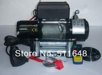 Free shipping 12V 6000LB Automobile Electric Winch,ATV/UTV/4X4/4WD winch