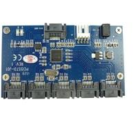 Free shiping SATA 1 to 5 Port Multiplier Card , sata port expander