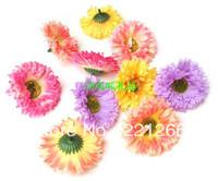 Peace simulation flower hairpin chrysanthemum silk flowers diy hair clothes hat decorated flower heads
