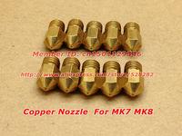 3D Printer  Nozzle for Makerbot MK7 MK8 0.4mm  Freeshipping 50pcs/lot