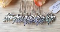 10181 New 2014 Fashion Crystal Rhinestone Bridal Custom Jewelry Hair Comb For Wedding