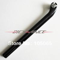 No Brand 3K UD Finish Black Carbon Fiber Seatpost  Road MTB Mountain Bicycle Seatpost Seat Tube Bike Parts 27.2/31.6*400mm