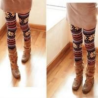 2014 New Brand Winter Spring Women Leggings Pants/Fashion Printed Leggings For Women/Casual Women Clothing