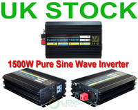 1500W Pure Sine Wave Power Inverter 12V DC,220V AC, Factory Wholesale! UK STOCK! FAST SHIP!