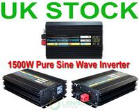 1500W Pure Sine Wave Power Inverter 12V DC,220V AC, Factory Wholesale! UK STOCK! FAST SHIP!