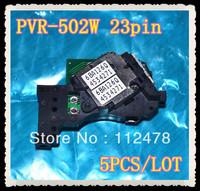 Free Shipping!5pcs/lot Optical pickup PVR-502W 23pin DVD Laser Lens Pickups