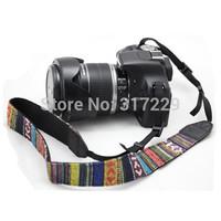 Vintage Camera Colorful Shoulder Strap Neck Strap Belt For SLR Free Shipping