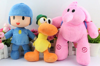 Pocoyo Elly Pato 12inch 30cm ELLY Pocoyo PATO Soft Plush Stuffed Figure Toy Doll Free Shipping 30/LOT