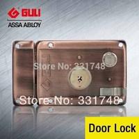 High security double lock tongue anti-theft locks burglar-proof padlock for exterior entrance doors 9219GA