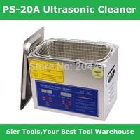 PS-20A 3.2L Ultrasonic Cleaner + washing basket/Digital Control Ultrasonic Washing Machine/glass washing machine