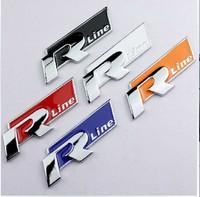 GOLF LOGO VW Logo Metal Rlie Sticker Rline logo The Network Standard 5colors