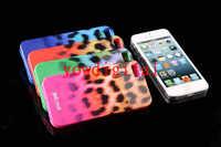 JustCavalli Macro Leopard Soft TPU case cover skin Puro Just Case Cover   for  iphone5