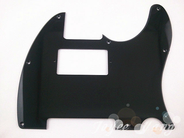 New Black 1 PLY Electric Guitar Pickguard Humbucker Pick Up Cut Pickguard For Fender Tele Style Guitar Free Shipping/Wholesales(China (