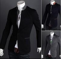 2014 New Brand Winter Spring Men Jackets Coats/Designer Fashion Work Jackets For Men/Casual Plus Size Cotton Men Coats