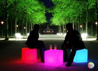 43CM led cube chair modern led cube light led cube furniture
