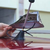 Free shipping! Mitsubishi Outlander car signal shark fin with 3M adhesive With blank radio shark fin  antenna