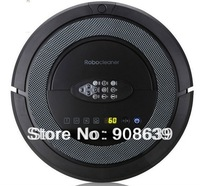 (Free Shipping for Russian Buyer) 6 in1 Multifunctional Robot vacuum cleaner, Sonic wall,2 roller brush
