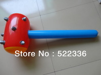 Free shipping high quality fashion children Inflatable Spiked Bat hammer toy Not wounding weapon