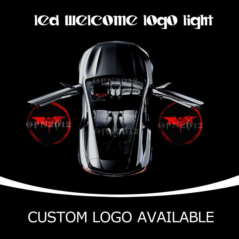 Buy Punisher Laser Logo Led Car Door Projector Ghost Shdow Welcome Puddle Light