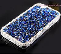 New Bling Handmade Bling Diamond Rhinestone Hard Back Case Cover For iPhone 5 5G