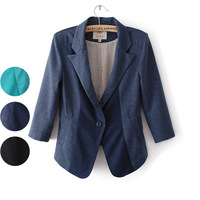 New 2013 Autumn -summer Blazer Shorts Women! Jacket Women Coat! Free Shipping!