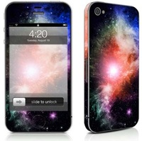 E3 Universe Series Full Body Decal Skin Protector Sticker For Apple iPhone 4 4S