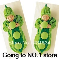 Free Shipping! Hot Sale 1piece/lot Super Cute Bean Sleepsacks Pea Style Soft and Comfortable Baby Sleeping Bag  00067