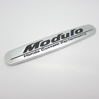 Free shipping, 10pcs/lot Honde custom perfarmance Modulo logo 3D car badge