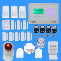 New Wireless LCD Touch keypad  GSM SMS Home Burglar Security Alarm System GSM alarm systems  DIY kit TS-M2BX 04