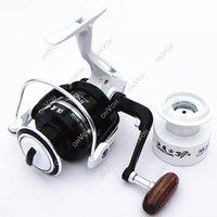 S5Q High Quality 8 BB High Power Gear Spinning Spool Aluminum Fishing Fish Reel Free Drop Shipping