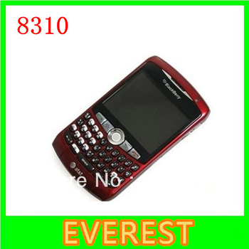 Original Blackberry curve 8310 unlocked Smart Quad-band Mobile Phone 2MP with bluetooth free shipping