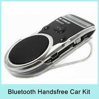 Bluetooth Car Kit Handsfree LCD Display Solar Powered Reversible display, DSP techlogogy, TTS functions(Text to speecher)