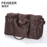 Free shipping brand fashion designer  travel bags Nylon man duffle bag woman man large capacity handbag