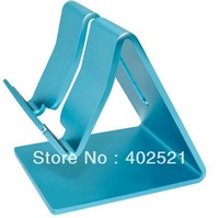 Hot Sale Aluminium Metal Desk Stand Holder for Apple iphone 4 4s 5G iPad iPad 2 ipad3 Tablet PC Universal Stand &Free Shipping