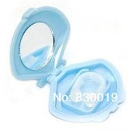 2Pcs/Lot! Free shipping Anti-Snoring Nose Clip Mini Portable Snore Free Aid Sleeping Snoring Stopper 1821