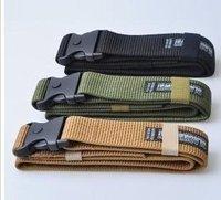 Military style BlackHawk nylon webbing belt mens womens sport training belts Black Army Green Brow
