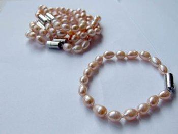 7-8mm AAA+++ Nice Qaulity Fashion Freshwater Pearl Bracelet
