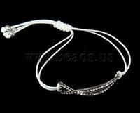 Free shipping!!!Zinc Alloy Shamballa Bracelets,DIY,Jewelry DIY, with Wax, with rhinestone, nickel, lead & cadmium free