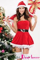 santa claus costume Apparel Party, sexy santa costume Wholesale, North Pole Mini LC7155 Cheap price Drop Shipping