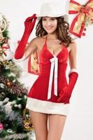 santa claus costume Sexy Christmas Costumes, Santas Honey Costume LC7192  Sexy costumes women